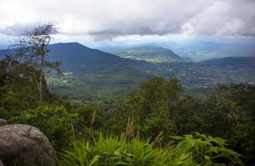 Landscape Mountain National Park, Phu Rua in Loei, Thailand.