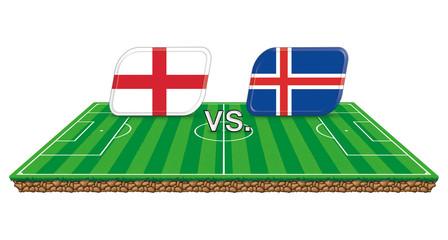 Spielstand England Island