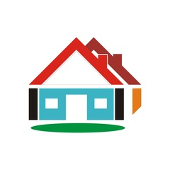 vector design rel estate and logo