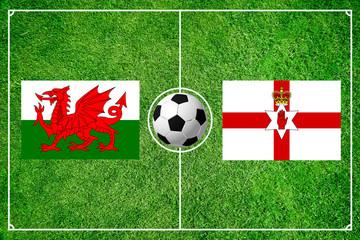 Wales gegen Nordirland