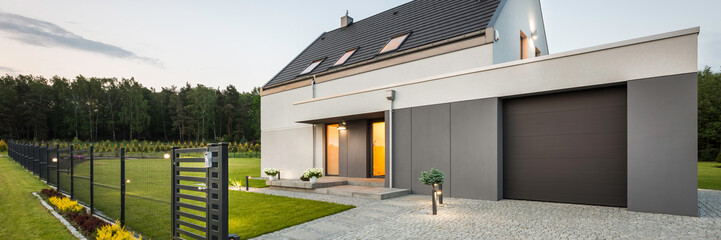 Stylish family house at quiet area