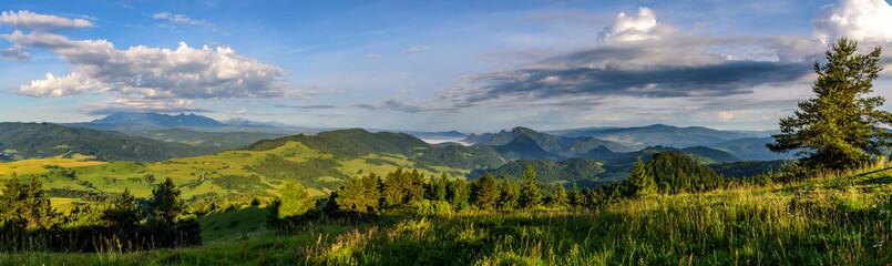 Pieniny panorama