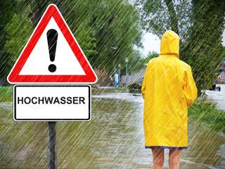 Achtung Hochwasser !