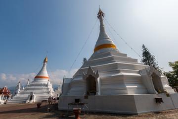 Temple Wat Phra That Doi Kong Mu. Mae Hong Son, Thailand