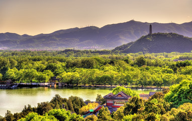 Kunming Lake seen from the Summer Palace - Beijing
