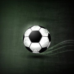 Soccer ball, Graphic Concept