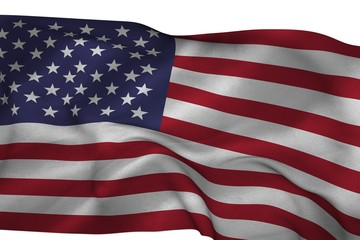 Composite image of an american flag