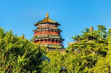 Tower of Buddhist Incense in the Summer Palace - Beijing