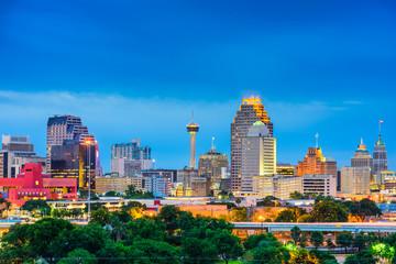 Fototapete - San Antonio Texas Skyline