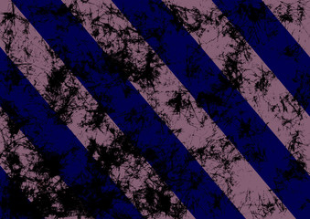 Abstract drawn grunge background in blue colors with diagonal stripes. Banner with effect of crumpled paper with scratches, abrasion, crack. Series of Grunge, Oil, Pastel, Chalk and Inc Backgrounds.
