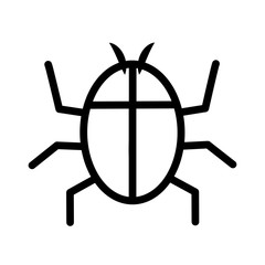 Insect icon. Bug design. vector graphic