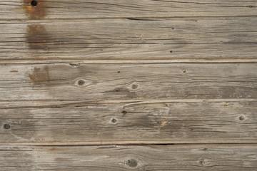 Старая деревянная доска ржавые гвозди.  Красивая деревянная поверхность текстура