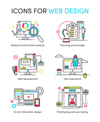 Icons for web design