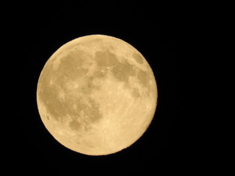 full moon in June, strawberry moon
