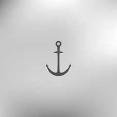 Anchor solid body symbol