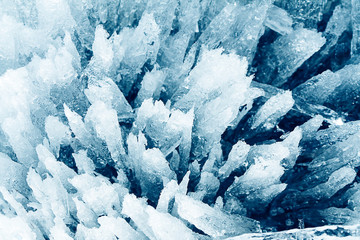 porous ice background