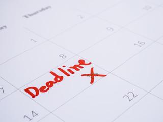 Handwriting deadline 2