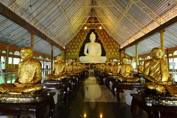 Hall of Wat Pa Huay Lard,Loei,Thailand