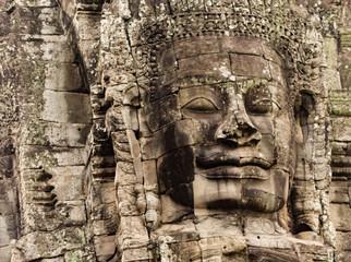 Bayon Khmer temple, Angkor Thom, Siem reap, Cambodia