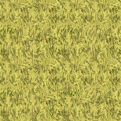 Withered grass camouflage seamless pattern
