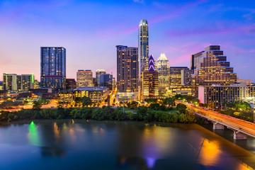 Poster de jardin Texas Austin Texas Skyline