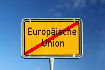 Europäische Union Ausstieg