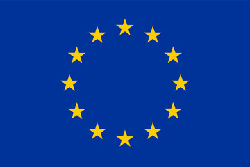 vector image european flag eu