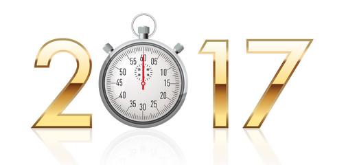 2017 - Chronomètre