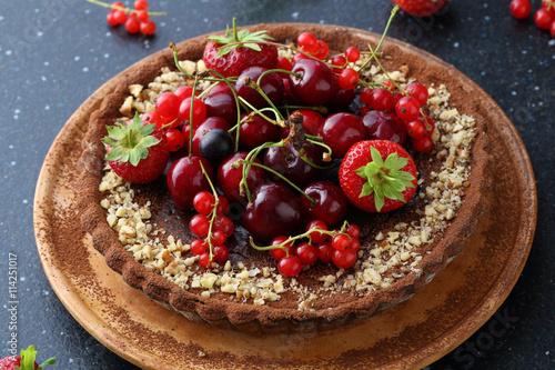 Ягоды пирог рецепты с не сладкий