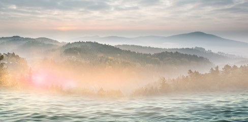 Composite image of beautiful day in the water