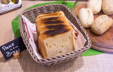 Loaf of bread fresh baked