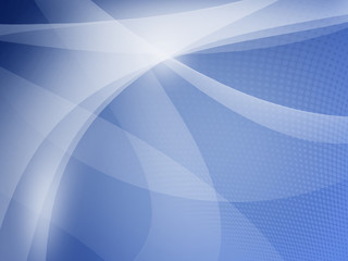 Blue Abstract background with lighting effect