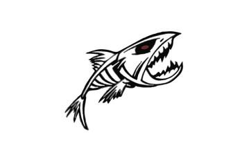 Devil fish Tribal or tattoo