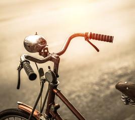 Bicycle in vintage filter