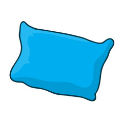 pillow isolated illustration
