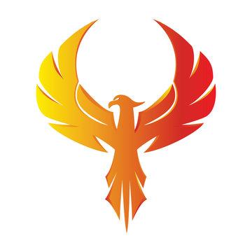 Phoenix Eagle Logo 3D