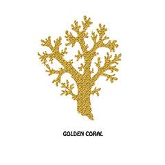 golden coral symbol