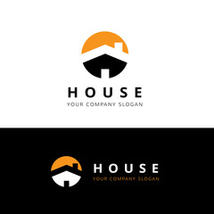 House logo,home logo,building logo,real estate logo,property logo,vector logo template.