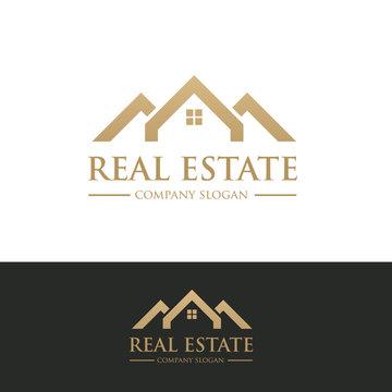 House logo,home logo,building logo,real estate logo,property logo,vector logo template.