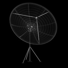 satellite antenna, digital