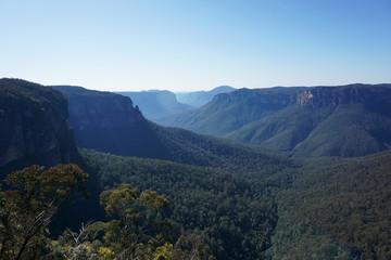 Blue Mountains National Park in Australia
