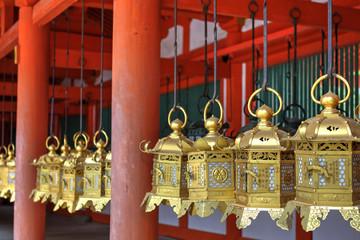 Lanterns at Kasuga Grand Shrine