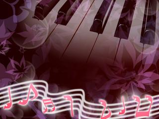 秋のピアノ