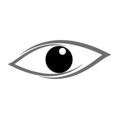 eye icon logo vector 7