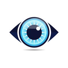 eye icon logo vector 5