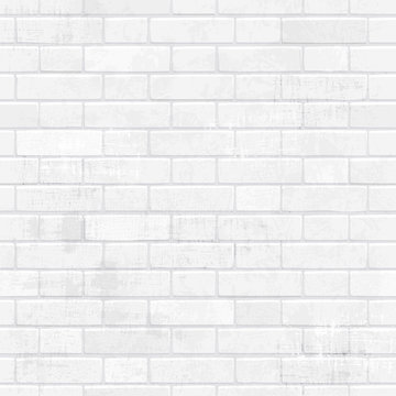 shabby chic white brick wall for your design.