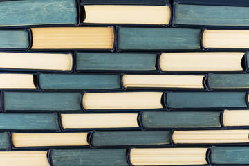 stack of books for background