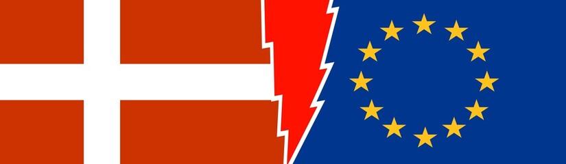 Politic relationship, European Union and Denmark