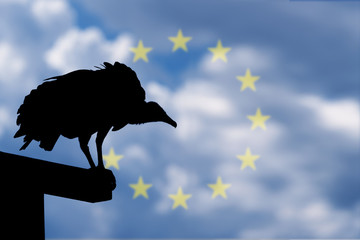 Vulture of banruptcy waiting for Europe