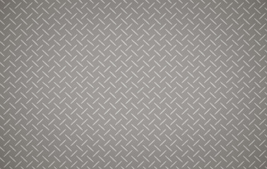 metal gray with rhombus shapes pattern
